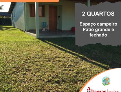 Ver mais detalhes de Casa com 2 Dormitórios  em Albatroz - Osório/RS