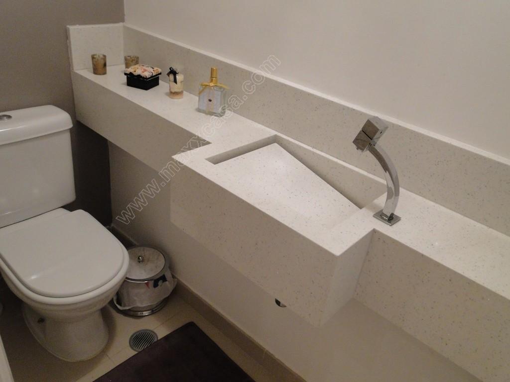 Banheiro terraço