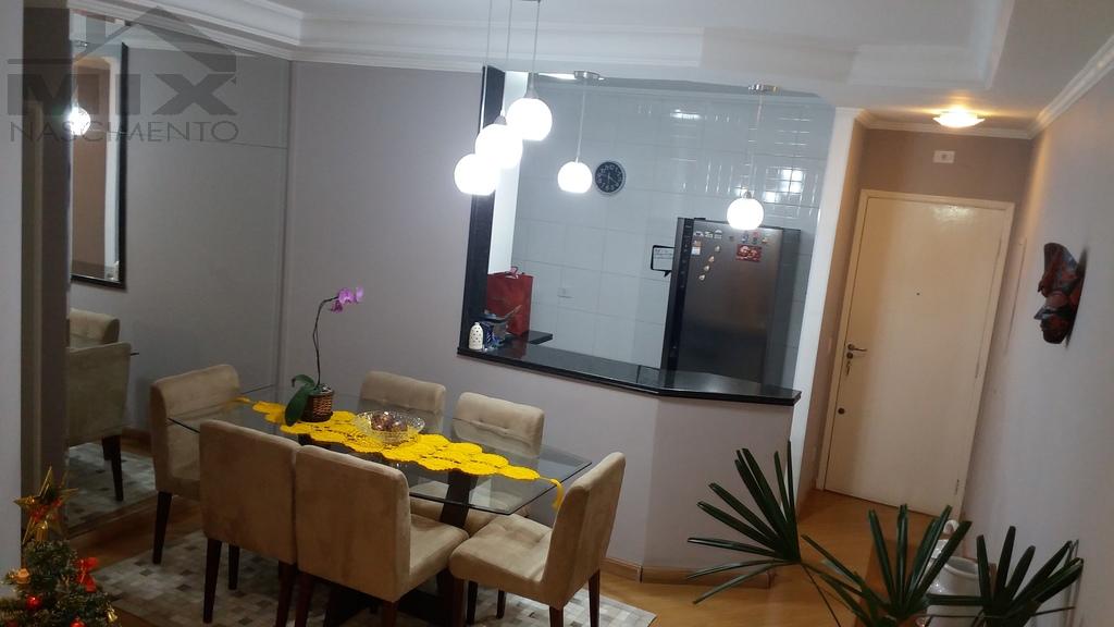 Cozinha americana com sala de Janta