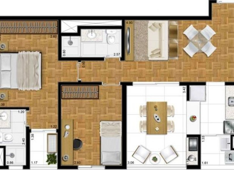 Stark Design Desire - Apto 2 Dorm, Alto da Boa Vista, São Paulo (5330) - Foto 12
