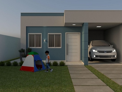 Ver mais detalhes de Casa com 1 Dormitórios  em Paizinho Maria - Currais Novos/RN