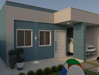 Ver mais detalhes de Casa com 2 Dormitórios  em Paizinho Maria - Currais Novos/RN
